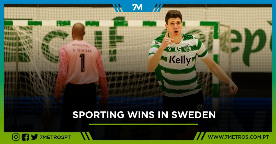 IFK Kristianstad 27-32 Sporting CP: Lions pass in Sweden