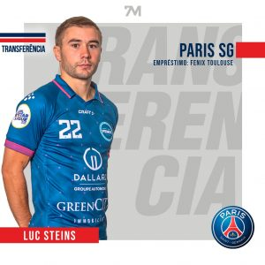 Luc Steins assina pelo Paris Saint-Germain
