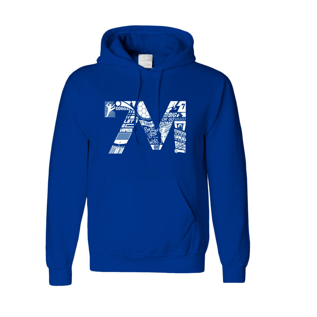 Sweatshirt 7M Azul Real